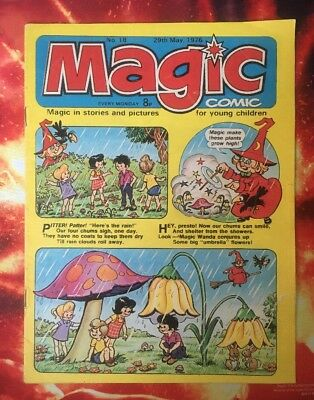 Magic Comic. No 18 29 May 1976. Vfn Dorothy & The Wizard Of Oz. Puzzles Not Done