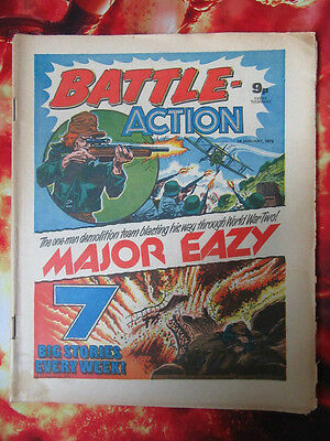 Battle Action Comic. 14 January 1978. Fn+