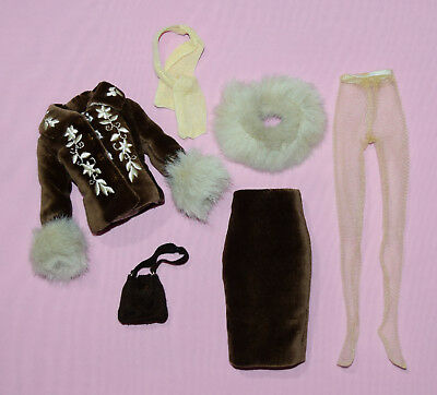 """Tonner 10"""" Tiny Kitty Cocoa Truffle Outfit Fits Simone Rouge"""