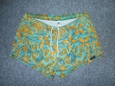 Sauvage California Vintage 70's Mens Small Lined Swim Shorts
