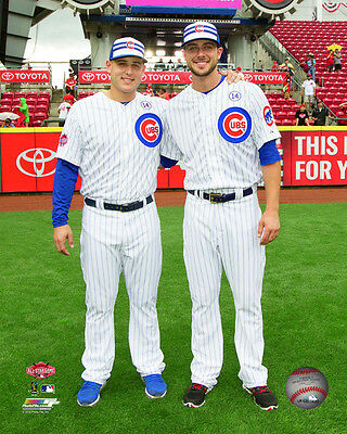 "KRIS BRYANT & ANTHONY RIZZO ""2015 MLB All-Star Game"" ASG Chicago Cubs 8x10 photo"