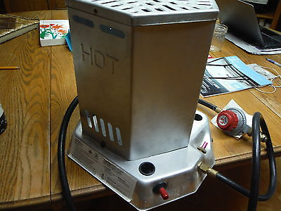 compact light weight outdoor portable propane heater  15,000-25,000 btu