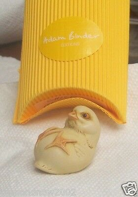 Adam Binder Editions CHICK Palm Charm Harmony Kingdom UK Signed NIB NOS