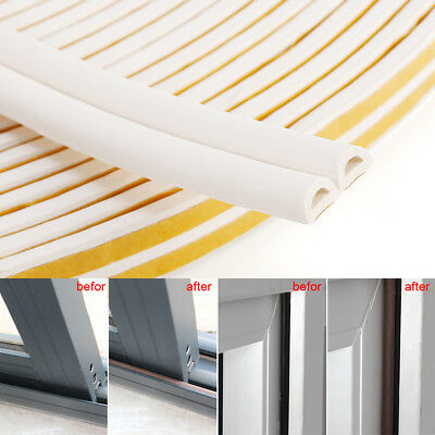 Draught Seal Stopper Excluder Door Bristle Brush Strip With Fittings 100cm 2PCS