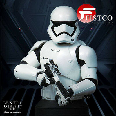 STAR WARS: Episode VII - Büste 1/6 First Order Stormtrooper Deluxe MB (Gentle Gi