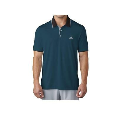 Adidas Golf 2017 Climacool Performance Vented Polo Shirt (Petrol Night)
