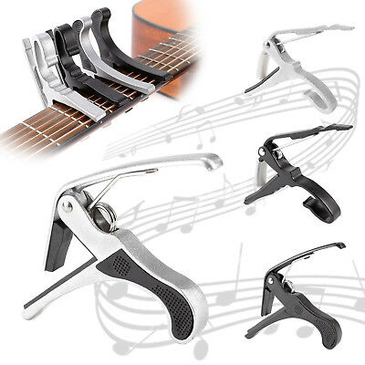 New Quick Change Tune Clamp Key Trigger Capo For Acoustic Electric Guitar