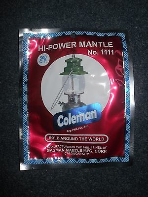 6 X Mantle For Coleman Lamps Mantles Work On Tilley *6 PACK - UK Stock UK Seller