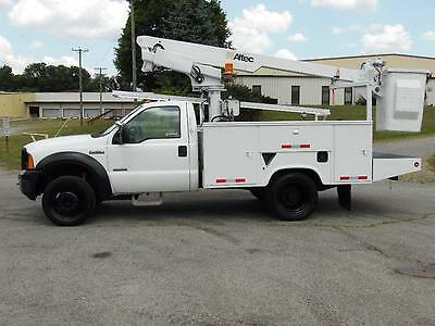2007 Ford F-450 Diesel Altec At200A Boom/bucket Service Truck