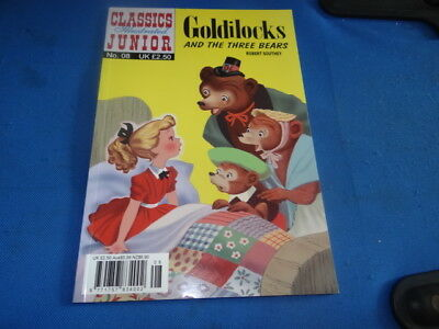 Classics Illustrated Junior #8 Goldilocks and the Three Bears by Robert Southey