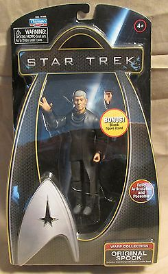 Star Trek Movies Warp Collection Original Spock Playmates 2009 mint in package
