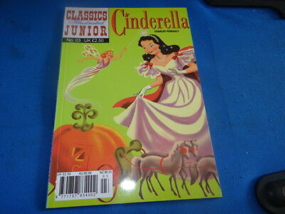 Classics Illustrated Junior #3 Cinderella by Charles Perrault