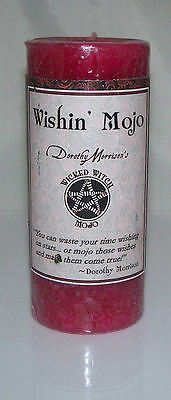 4 Pack Wishin' MOJO Candle - Coventry Creations Wicked Witch Magick WISH pillar