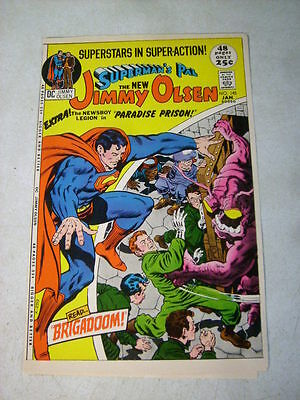 SUPERMANS PAL JIMMY OLSEN #145 KIRBY, COVER ART approval cover proof 1970'S