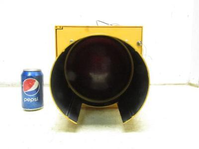 """Cool 8"""" Eagle Traffic Street Signal RED Stop Light Man Cave Decor"""