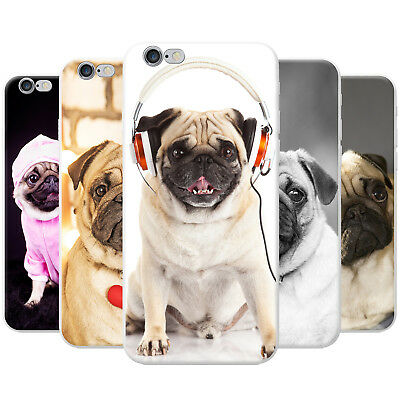 Pug Pugs Love Little Dogs Snap-on Hard Back Case Phone Cover for Apple Phones