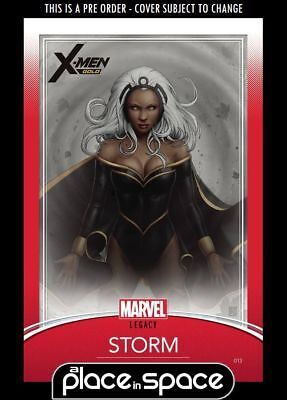 X-Men: Gold #13C - Trading Card Variant (Wk40)