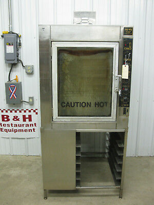 NU-VU Bakery Bread Convection Cook & Hold Oven UB-6T w/ Stainless Steel Stand