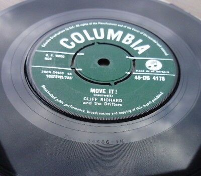 """CLIFF RICHARD and the DRIFTERS""""Move it"""" SUPERB ORIGINAL COPY"""