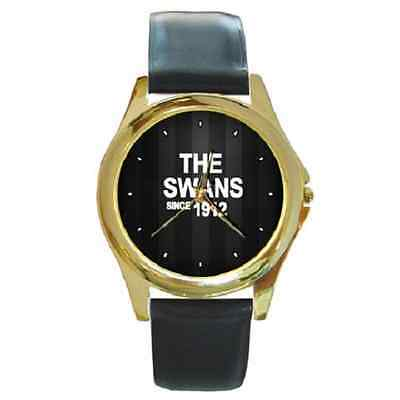 **new* The Swans Since 1912 Swansea Round Wristwatch **lovely Gift Item**