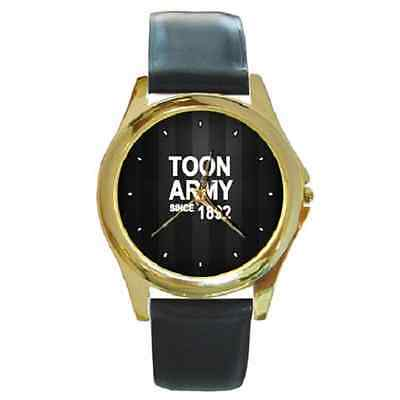 **new* Toon Army Since 1892 Newcastle Round Wristwatch **fantastic Item**