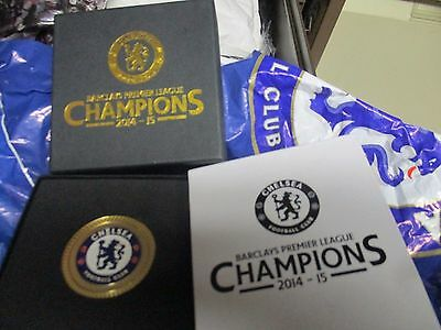 Chelsea Limited Edition 201 Premier League Champions Official Boxed Medal