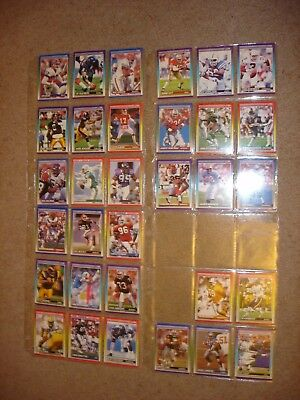 32 SCORE 1990 NFL American Football Trading Cards
