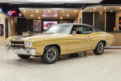 1970 Chevrolet Chevelle SS Documented Chevelle SS! GM 396ci V8, Muncie 4-Speed Manual, PS, PB, Build Sheet!