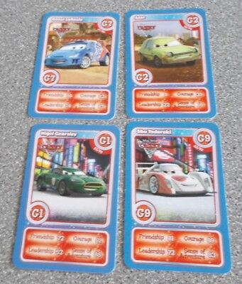 Morrisons Magical Moments Festival Card - 4 Different Cards Letter G - CARS 2