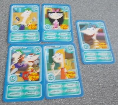 Morrisons Magical Moments Festival Card - 5 Different Cards Letter I - Phineas &