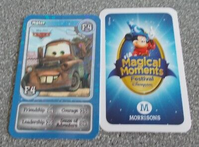 Morrisons Magical Moments Festival Card - F4  Shiny Mater