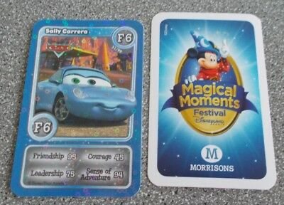 Morrisons Magical Moments Festival Card - F6  Shiny Sally Carrera