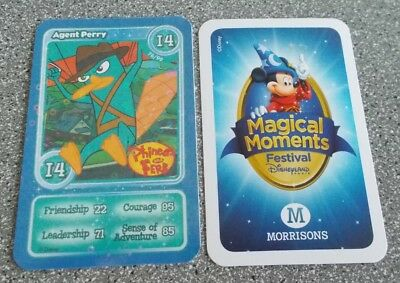 Morrisons Magical Moments Festival Card - I4  Shiny Agent Perry