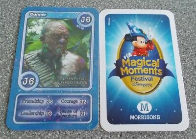 Morrisons Magical Moments Festival Card - J6  Shiny Cunner