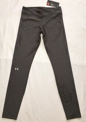 NWT UNDER ARMOUR Heatgear Compression Legging Tights Size M Carbon Gray Heather