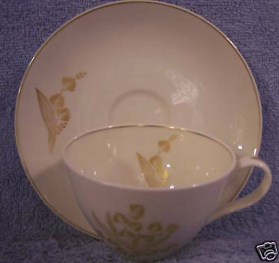 Castleton Golden Meadow-Cup & Saucer-Patent Applied