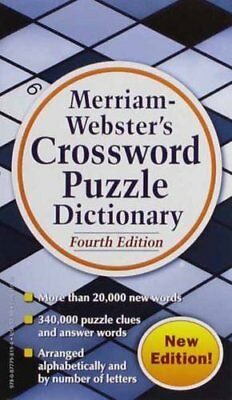 Merriam-Webster's Crossword Puzzle Dictionary, Fourth Ed.-Merriam-Webster