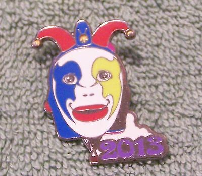 2013 Lady Jester Balloon Pin