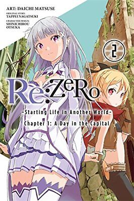 ReZERO -Starting Life in Another World-, Chapter 1 a Day in the Capital Manga: A