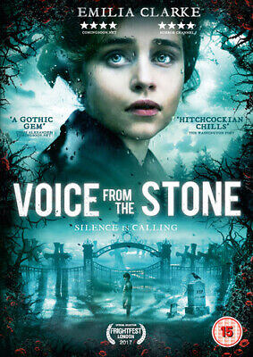 Voice from the Stone DVD (2017) Emilia Clarke, Howell (DIR) cert 15 Great Value