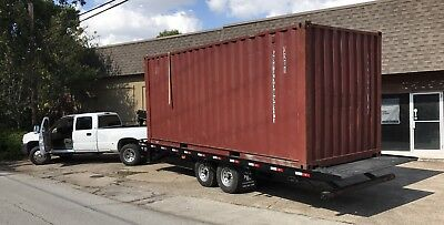 20' shipping container delivered WWT Conex