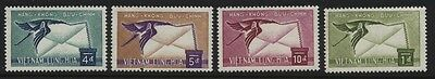 VIET NAM C11-14  1960 Airmail set mint
