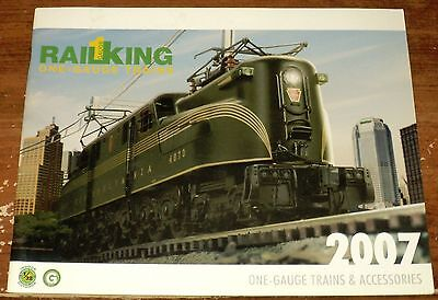 ^ 2007 Rail King ONE-GAUGE Train & Accessories Calalog  .. 49 Color Pages