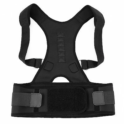 Lumbar Lower Back Waist Support Belt Brace Strap Pain Relief Adjustable Posture