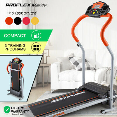 PROFLEX Electric Treadmill Compact Machine Walking Exercise Fitness Equipment