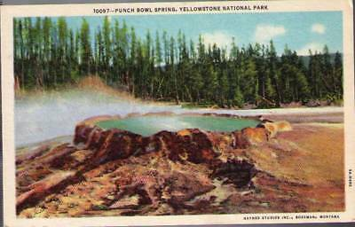 (sel) Yellowstone: Punch Bowl Spring