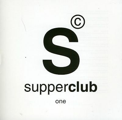 Various Artists - Supperclub Presents Lounge Vol.1 New Cd