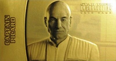 Star Trek Insurrection Various Insert Chase Gold Autograph Card Limited Edition