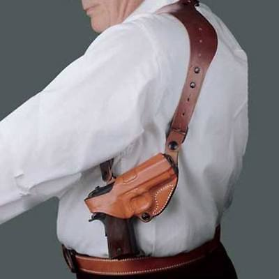 DeSantis 11ZTAB2Z0 11Z CEO Shoulder Holster RH Tan Fits Glock 17 22 19 23