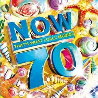 Various Artists : Now That's What I Call Music! 70 CD 2 discs (2008) Great Value